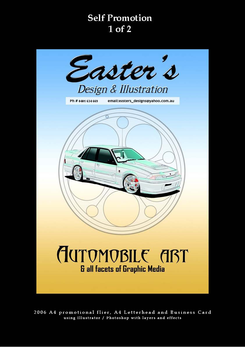 Advertisement & Poster Design: | Easter's Design ...